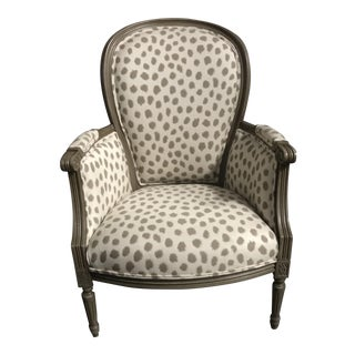 Modern Polkadot Germaine Accent Chair