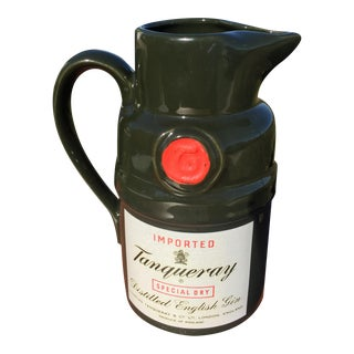 Vintage Tanqueray Gin Decanter