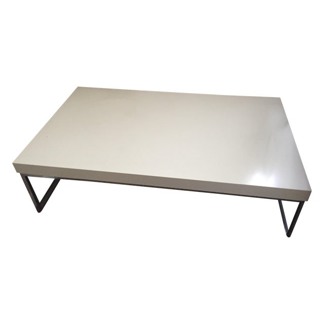 Bo Concept Contemporary Coffee Table Chairish