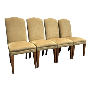 Mitchell Gold for Restoration Hardware Upholstered Dining Chairs - Set of 4