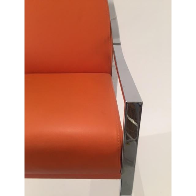 Holly Hunt Aileron Dining Arm Chair - Image 4 of 9