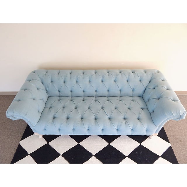 Nicole Miller Tufted Sofa Chairish