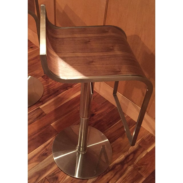 Contempoary Eurostyle Bar/Counter Stools - 2 - Image 2 of 9