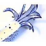 Image of White & Blue Pineapple Catchall