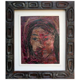 Te Vahine Moorea Portrait Painting