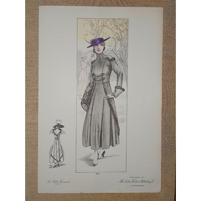 French Fashion Print Folio Size C.1920 - Image 2 of 3