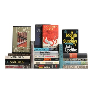 20th Century Fiction Giants Book Collection - Set of 20