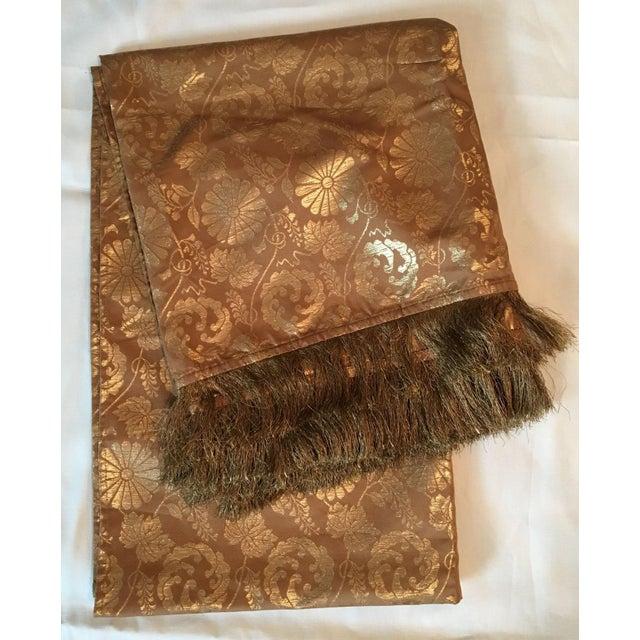 Ralph Lauren Metallic Jacquard Pillow Cover & Throw Blanket - A Pair Chairish