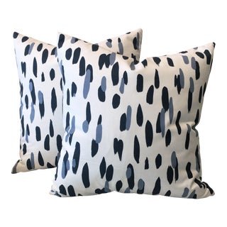 Mill Reef Indigo Pillows - A Pair