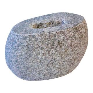 Carved Granite Vase