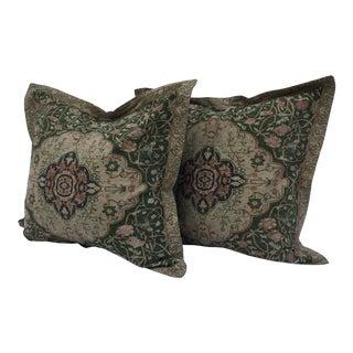 Ralph Lauren Tapestry Pillows- A Pair