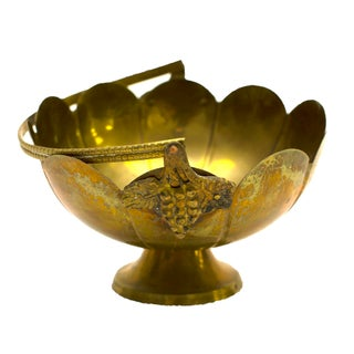 Decorative Indian Brass Bowl
