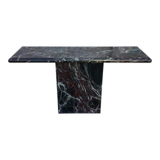 Marble Entryway Console Table