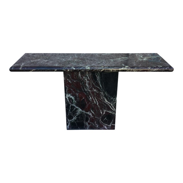 Marble Entryway Console Table - Image 1 of 6