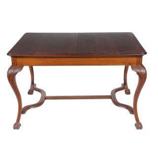 1920s Chippendale Style Art Noveau Dining Table