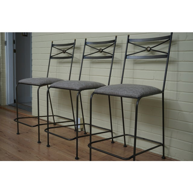 Pair of Luxury Hand Forged Counter Stools - Image 10 of 10