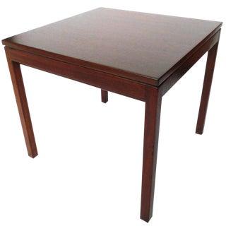 Jens Risom Danish Modern Walnut Side Table