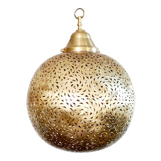 Moroccan Brass Pendant Lamp