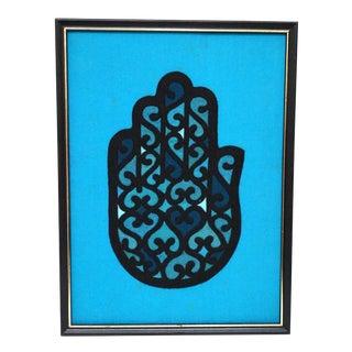 Vintage Hamsa Hand Tapestry