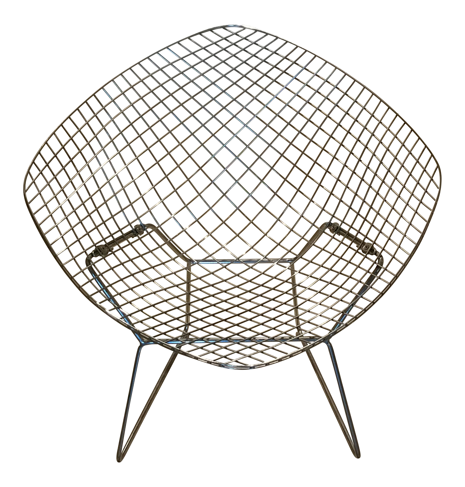 Harry Bertoia Diamond Chair For Knoll   Image 1 Of 5