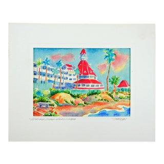 Hotel Del Coronado Giclee Print