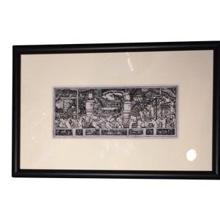 Diego Rivera Rotogravure Print