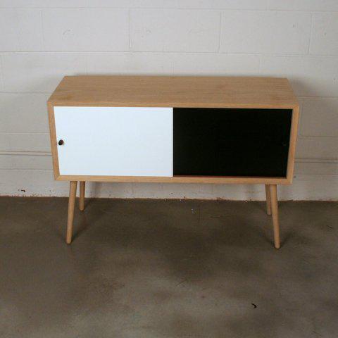 Via Cph Soaped Oak Danish Sideboard / Cabinet - Image 3 of 6