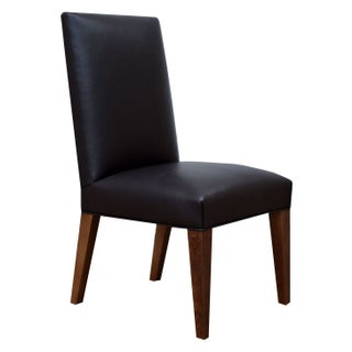 Custom Leather Vaughn Dining Chair - Set of 6