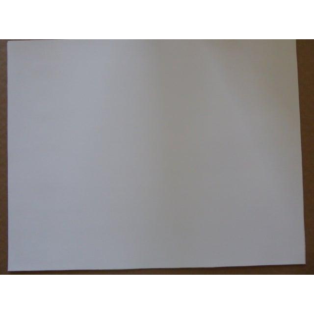 """Original Modern Industrial Graphic Silkscreen, """"Underpass #1"""" - Image 5 of 5"""