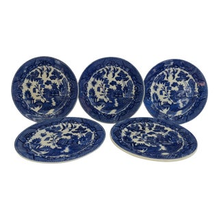 Chinoiserie Dessert Plates - Set of 5
