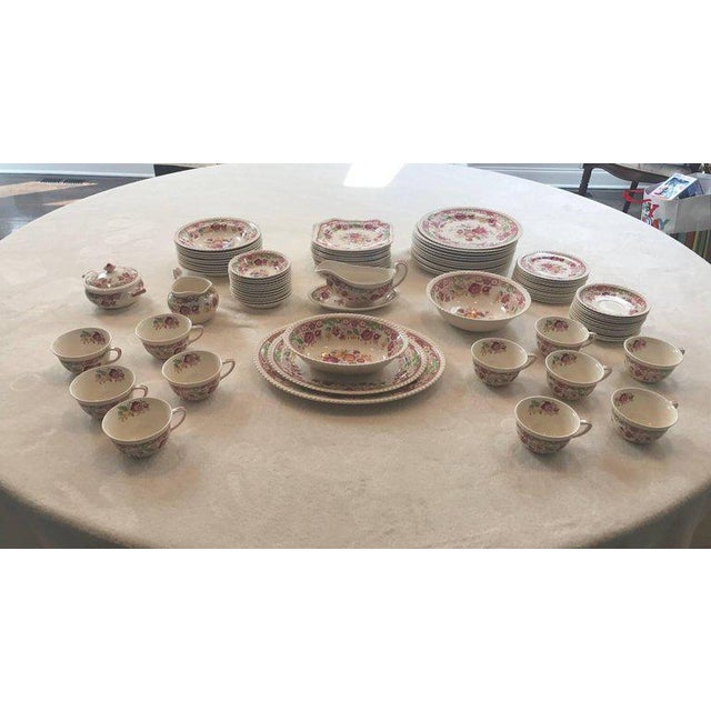 Winchester Johnson Bros China Set - Service for 12 - Image 2 of 9