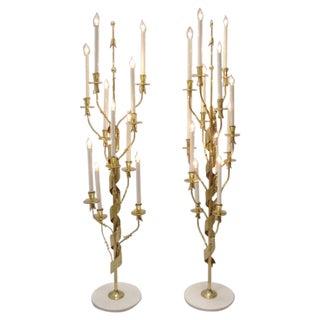Pair of Italian Floor Lamps
