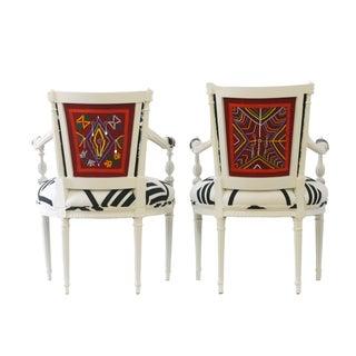 "Vintage ""Kenyan"" Occasional Chairs"