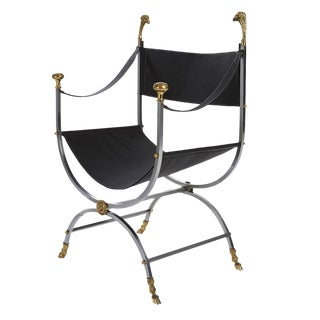 Maison Jansen Savonarola Chair