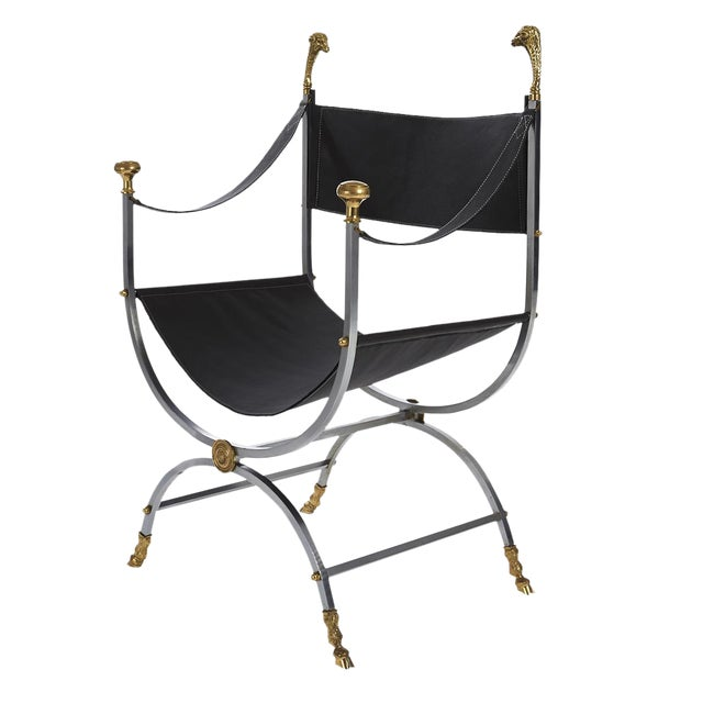 Maison Jansen Savonarola Chair - Image 1 of 3
