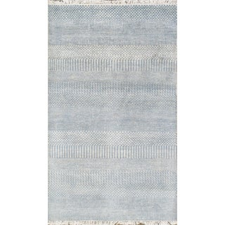 "Pasargad Transitional Silk & Wool Rug - 2'11"" X 4'10"""