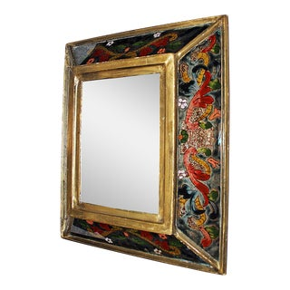 Reverse Painted Mirror