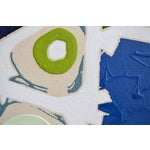 Image of Blue & Green Abstract Painting, Brushless #6