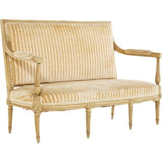 Louis XVI Painted Settee