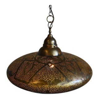 Brass Work UFO Lantern
