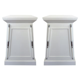 Tapered Nautical Nightstands- A Pair