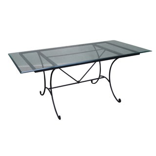 Charleston Forge Iron Castleford Dining Table