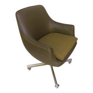 Mid-Century Burris Swivel Chair