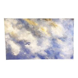 Oversized Oil Painting of Clouds