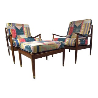Mid-Century Modern Living Room Set