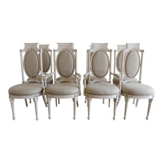 Italian Style Dining Chairs - Set of 8