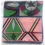 Image of Vintage Pucci Style Velvet Throw Pillow Cover