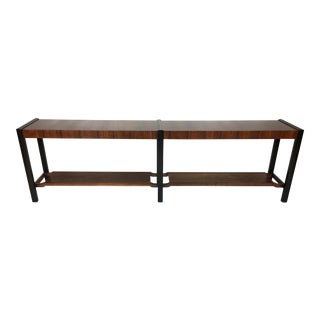 Fantastic Mahogany and Rosewood Console or Sofa Table