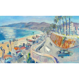 """Santa Monica, California Incline"" Painting by Humbert Curcuru"