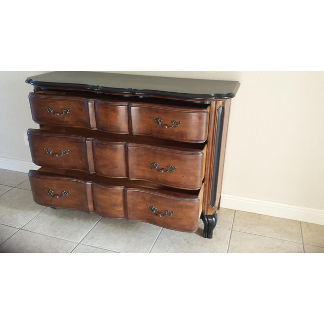 French Provincial Drawers Dresser - Image 9 of 11